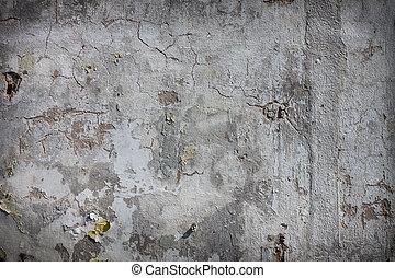 fal, szüret, bevakol, tapéta, beton, friss