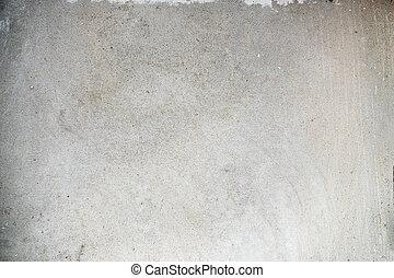 fal, szürke, struktúra, cement