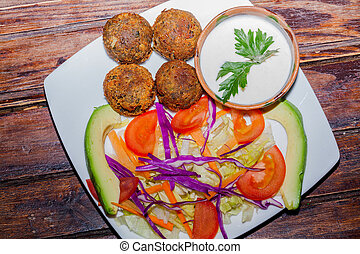 Falafel A Common Form Of Street Fo - Falafel Grew To Become...