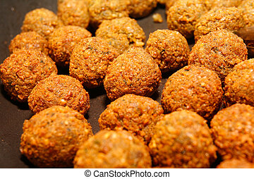 Falafel - middle eastern food.