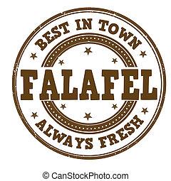 Falafel stamp