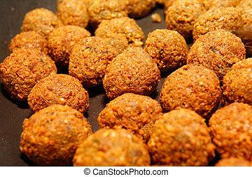 Falafel - middle eastern food.