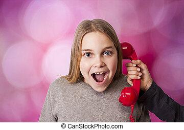 falando, telefone