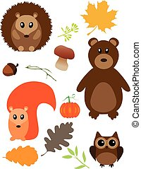 Fall Animals