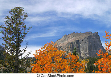 Fall at Hallet Peak