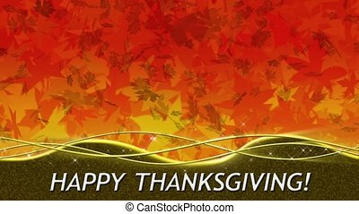 Fall Color Thanksgiving Loop - %u201CHappy...