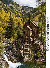 Fall Colors at Historic Crystal Mill - Fall colors...