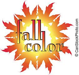 Fall Colors Illustration