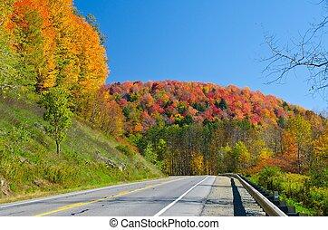 Fall colors in all its splendor
