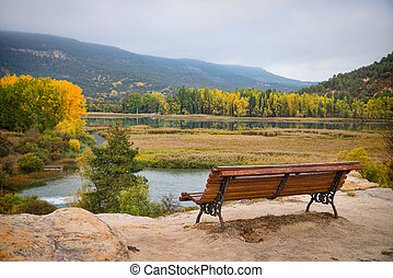 Fall colours - Autumn colours in Cuenca Province, Spain