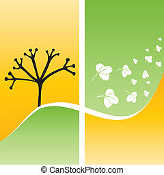 fall design template