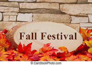 Fall Festival message