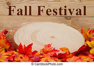 Fall Festival message