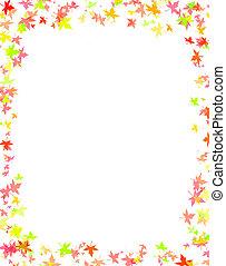 fall frame