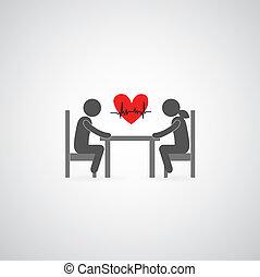 fall in love symbol