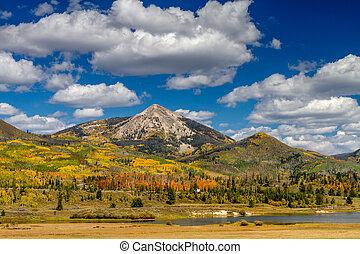 Fall in Steamboat Springs Colorado - Hahn Peak near...