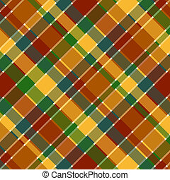 Fall Plaid Pattern