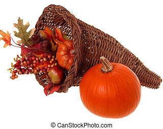 Fall Pumpkin - Fall pumpkin arrangement with a real pumpkin,...