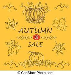 Fall sale message