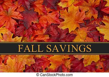 Fall Savings Message