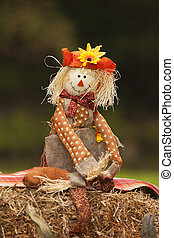 Fall Scarecrow Doll
