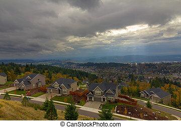 Fall Season in Happy Valley Oregon