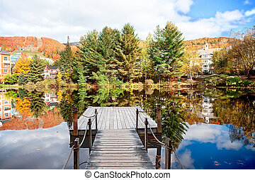 Mont-Tremblant in the Fall