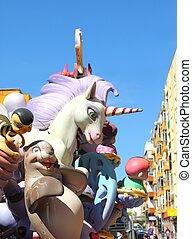 fallas Valencia papier mache popular fest figures - fallas ...