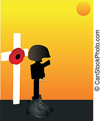 For all the brave ,fallen, men and women, who gave their lives for us to be free... Lest we forget..
