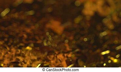 fallender , goldenes, sternen