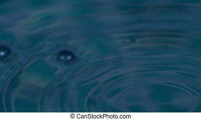 Falling Drop of Water