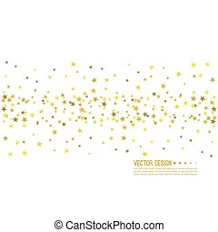 Abstract vector background with starry.