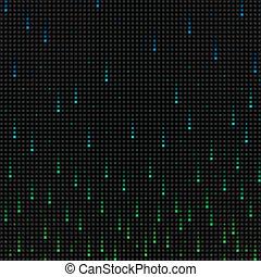 Falling grid