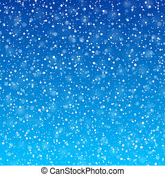 Falling snow background