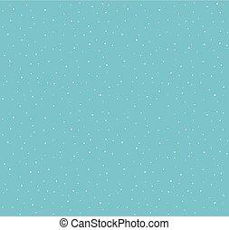 Falling Snow Pattern