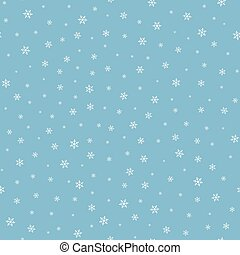 falling snow seamless pattern