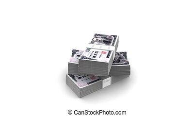 Falling Yen Bills Packs