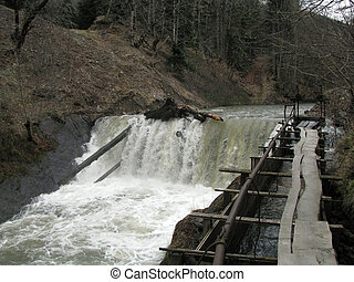 Falls - HYDROELECTRIC POWER STATION