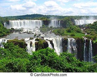 Falls - Iguazu waterfalls