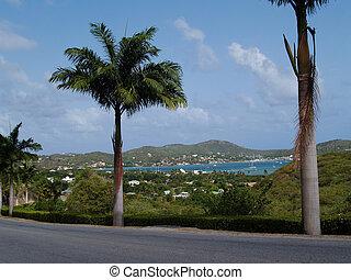 Falmouth Harbour on Antigua Barbuda