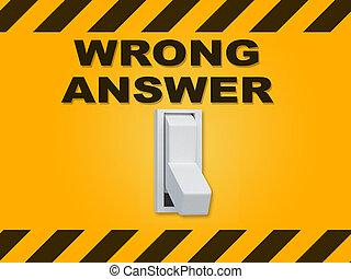 falsch licht taste falsche antwort gefunkel rotes stock illustration suche clipart. Black Bedroom Furniture Sets. Home Design Ideas