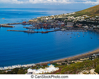 False Bay Cape Town, South Africa - False Bay, Simons Town...