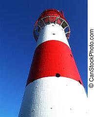 lighthouse - falshoeft lighthouse, northern germany
