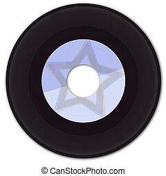 falsificación, 45 rpm precedentes, vinilo, etiqueta