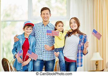 família, de, patriotas