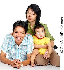 família feliz