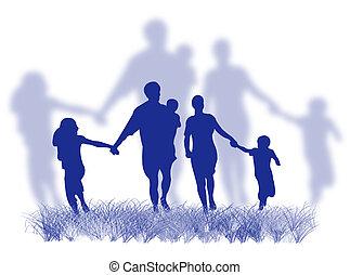 família grama