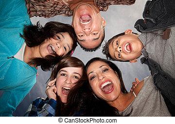 família hispânica