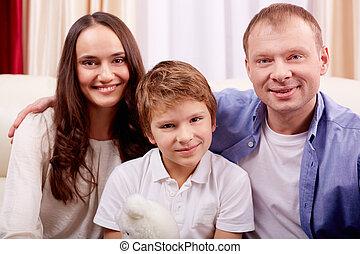 família, lazer