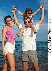 família, mar